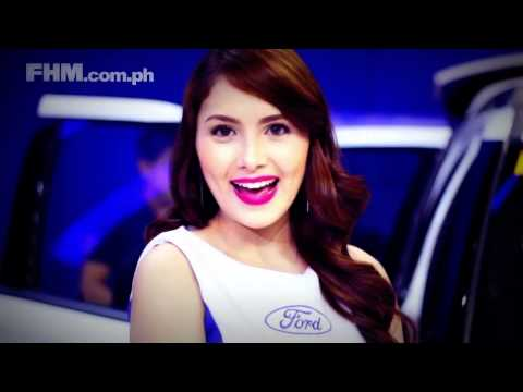 Pretty Girls Making 2015 Funny faces At MIAS 2015 FHM