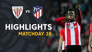 Highlights Athletic Club vs Atletico de Madrid (2-0)