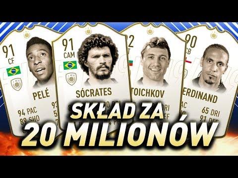 FIFA 19 - Biały skład za 20 milionów monet!