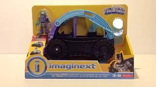 Unboxing Imaginext Mr Freeze Snowcat Battle Batman unboxing toy review