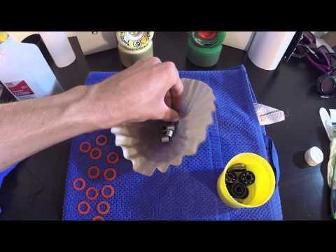 How To Clean CERAMIC Bearings