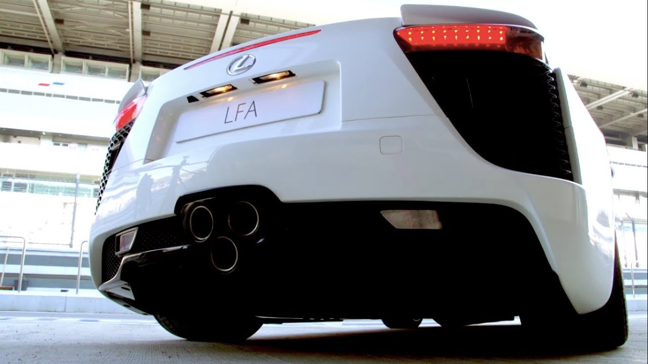Первый в рунете тест-драйв суперкара LEXUS LFA (560 л.с.), спорт седана GS F и купе RC F!