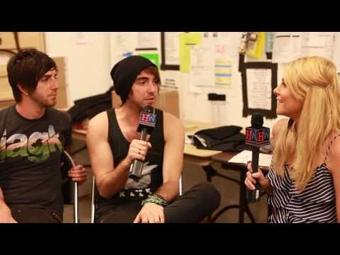 All Time Low Interview with Alex & Jack -- Dirty Work, I Feel Like Dancing & Virginity?