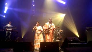 AMADOU AND MARIAM - BATOMA live @ Brussels Summer Festival 21/08/2015