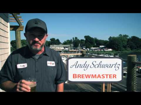 Stony Creek Brewery, Branford, Connecticut, USA - Brewmaster Andy Schwartz