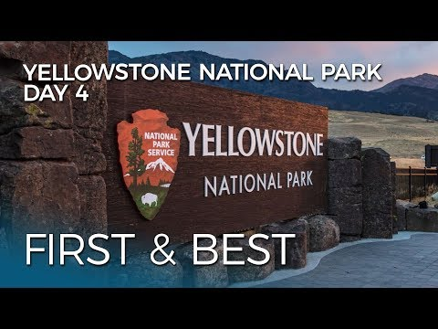 RVing Yellowstone National Park | Day 4: Fairy Falls and Norris Geyser Basin