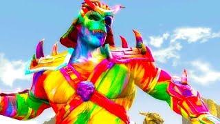Mortal Kombat Komplete Edition - Rainbow Shao Kahn & Kiro Tag Ladder 4K Gameplay Playthrough