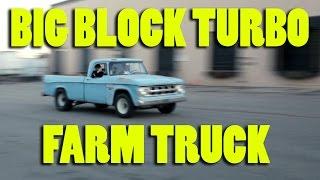 Fast Turbo Big Block Farm Truck, Street Racing, Burnouts, Dyno