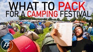WHAT TO PACK FOR A CAMPING MUSIC FESTIVAL (BASSHEAD EDITION)