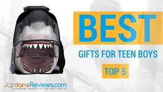 Find the Best Gifts for Teen Boys | Top Teenage Boy Gifts 2016 | Jordans Reviews