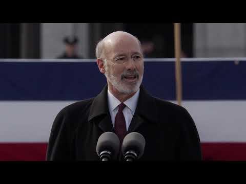 Gov. Tom Wolf's inauguration address