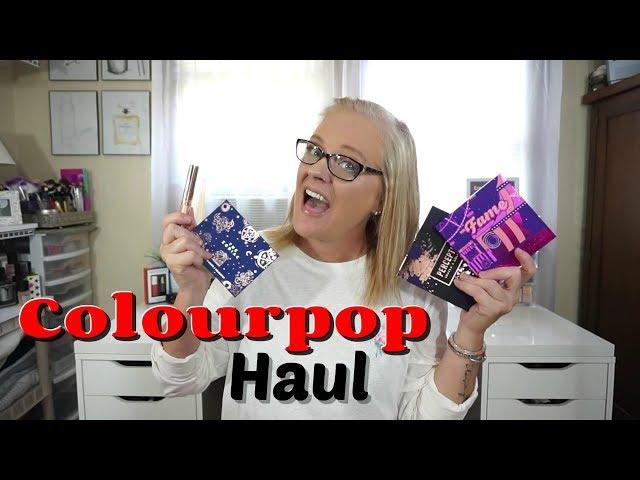 COLOURPOP Haul