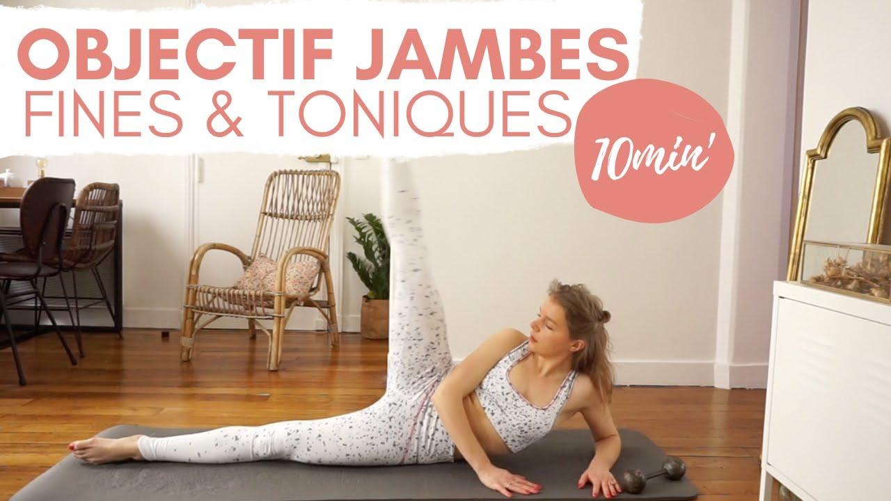 Séance de Yofit objectif jambes toniques et affinées 10 minutes !