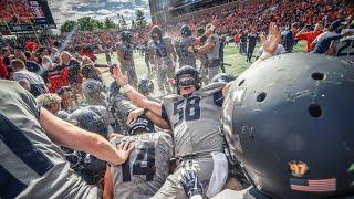 Illini Football | On-Field Celebration after Wisconsin Win