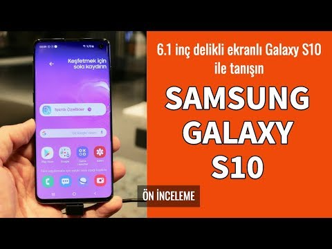 Samsung Galaxy S10 Ön İnceleme
