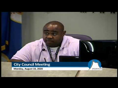 City Of Moorhead - City Council Meeting Aug 10, 2020