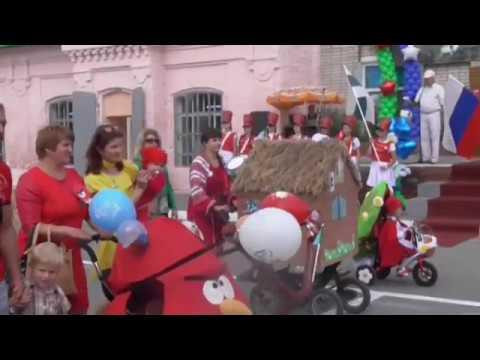 Шествие, посвящённое дню города Макушино (220-летие)