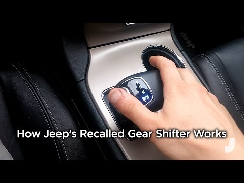 How Jeep's Recalled Gear Shifter Works