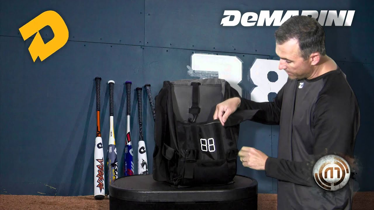 Demarini Black Ops Backpack Youtube
