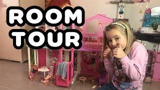 🏠[ROOM TOUR / HOME TOUR]🏠 - MAISON DE LUXE DE BARBIE !!!!! - Kid studio test