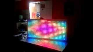 PAINEL DE LED RGB INTELIGENTE SD CARD