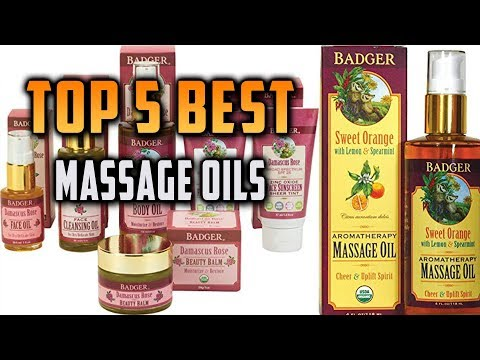 Top 5 Best Massage Oils