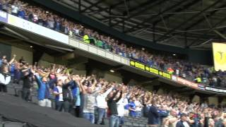 Keep Right On | Birmingham City fans at MK Dons