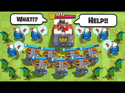 LEGENDARY RANGED DECK OPENING in Clash Royale
