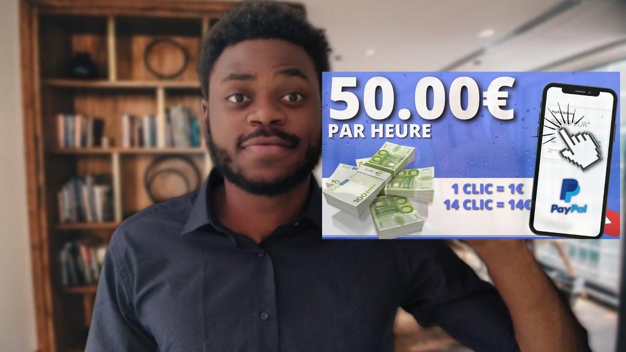 ARGENT PAYPAL 50€ PAR HEURE 1 LIEN - CLIC [Argent Paypal Facile]