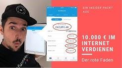 10.000€im Internet verdienen - Der rote Faden