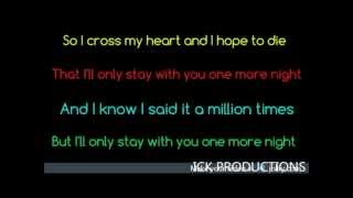 One More Night - Maroon 5 - Lyrics Thumbnail