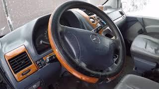 Mercedes Vito W638 Экспромт V220 с кенгурятником.