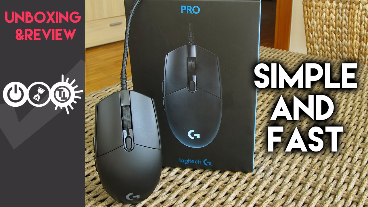 877d3cdea25 Logitech G Pro Review - Simple High-End Gaming Mouse - YouTube