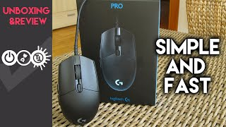 Logitech G Pro Review - Simple High-End Gaming Mouse