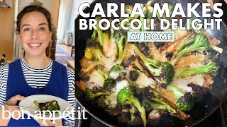 Carla Makes Cheesy Broccoli Delight | From the Home Kitchen | Bon Appétit