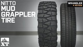 Jeep Wrangler NITTO Mud Grappler Tire (32-40