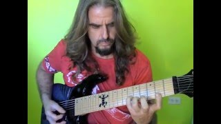 Nobody Rides For Free (Ratt)  guitar solo cover by Ramon Ortiz
