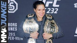 UFC 232: Amanda Nunes full post fight interview