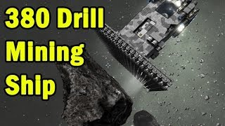 380 Drill Mining Ship - Space Engineers