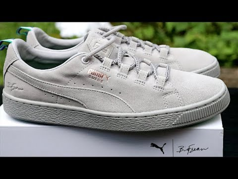 another chance 21594 a1a86 Puma X Big Sean Suede Ash/Ash Review & How To Style Puma Suede