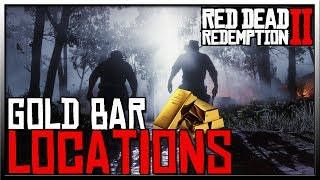 Red Dead 2 Gold Bar Locations - All Red Dead Redemption Gold Bar Locations