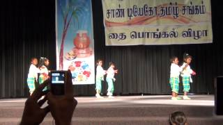 SDTS 2013 Pongal Vaandu Girls Dance Part-2 (Venam Machan Venam Song)