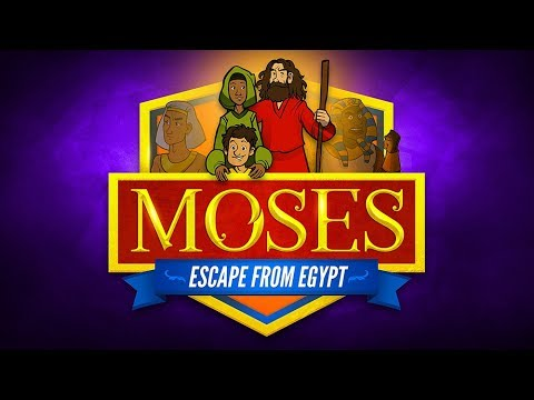 Sunday School Lessons: Moses Escapes From Egypt For Kids | ShareFaith.com