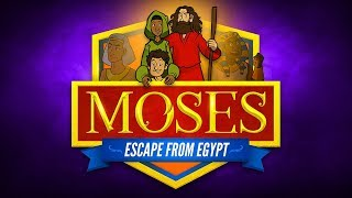 Sunday School Lessons: Moses Escapes From Egypt For Kids   ShareFaith.com