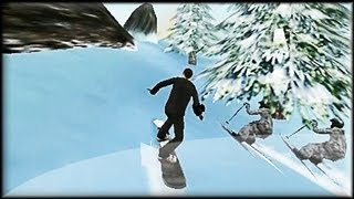 Agent Freeride - Flash Game Preview / Walkthrough (all 5 levels)