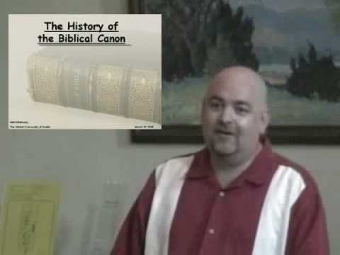 The History Of The Biblical Canon (5)