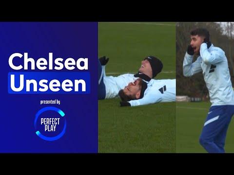 Havertz on target in shooting practice ? Jorginho the Joker ?   Chelsea Unseen