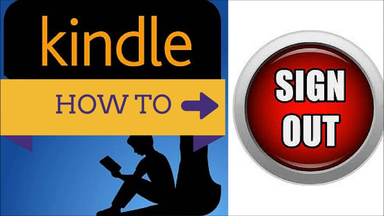 How to Sign Out of the Kindle App