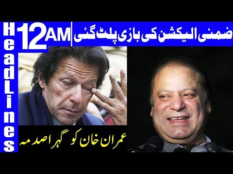 Game is Over for Imran Khan and PTI   Headlines 12 AM   15 October 2018   Dunya News