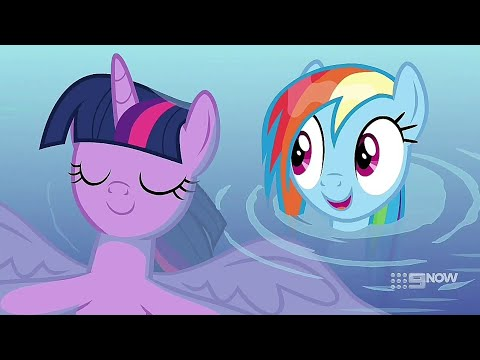 Rainbow Dash Scares Twilight Sparkle - My Little Pony ...